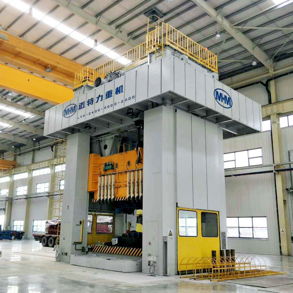 LS4-2400吨八连杆试模机械压力机