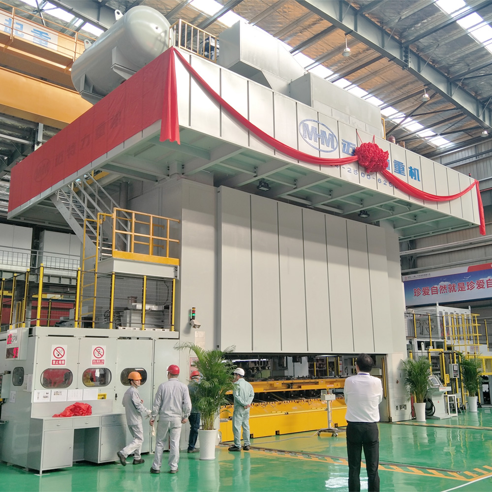 TE4M-2500吨偏载多工位压力机
