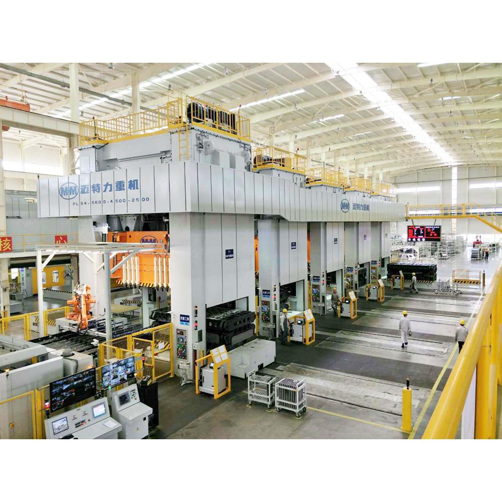 5600吨自动化冲压线
