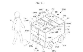 本田申请自动驾驶送货车专利